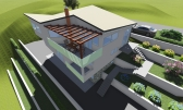 Orehovica - teren za kuću s 3 stana, plaćene komunalije !