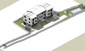 Malinska, 3+DB moderan stan na 2. katu sa pogledom na more i bazenom za prodaju na odličnoj lokaciji!