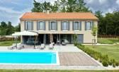 Moderna vila s 5 soba, bazenom i vrtnim paviljonom
