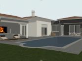 Istra,Kanfanar,manja vila s bazenom u izgradnji