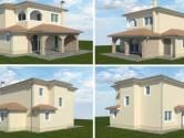 KRK,RASOPASNO- moderna novogradnja 133 m2 + 1000 m2 okućnica
