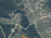 ZAGREB,HORVATI, 4600m2 GRAĐEVINSKO ZEMLJIŠTE U BLIZIMI KARLOVAČKE CESTE