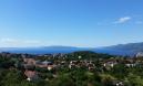 KASTAV, građevinski teren sa pogledom na Kvarner